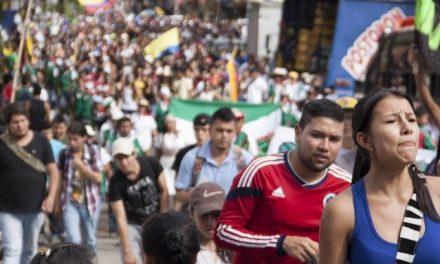 Más de 50 mil personas marcharon en Tolima contra la mega minería