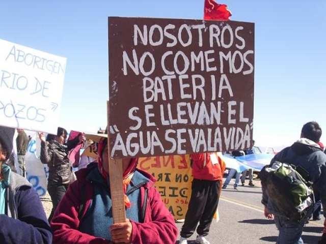 La resistencia de las comunidades contra el avance de la minerìa de litio