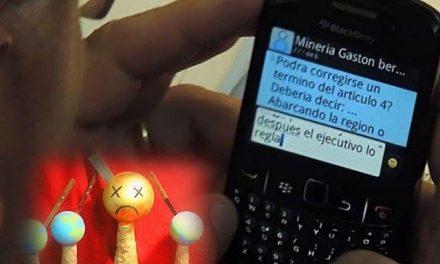 """Premios """"Termineitor"""": el de oro fue para la Legislatura de Chubut por obedecer a las mineras"""