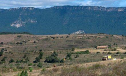 Movilización en las Altas Cinco Villas contra una mina de potasa