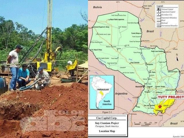 Exploran uranio en el sudeste de Paraguay