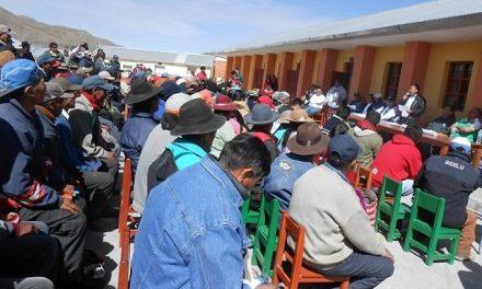 Pobladores se oponen a taller participativo de minera Buenaventura