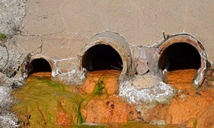 Pesadilla de arsénico dentro de una vieja mina francesa