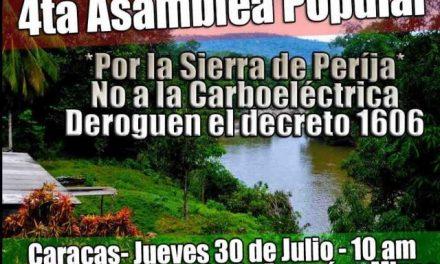 Venezuela: NO a la minería del carbón y las carboeléctricas