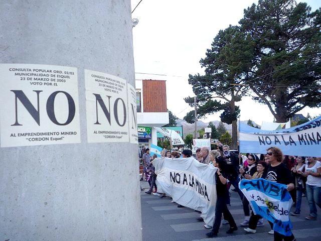 """Adhesión de la Asamblea de Vecinos de Esquel al """"Día Mundial contra la Megaminería"""""""
