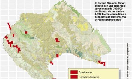 Minería se cierne sobre el Parque Nacional Tunari