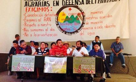 Campesinos exigen cancelar concesiones mineras en Guerrero