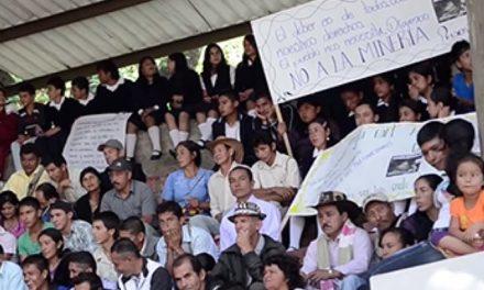 Graves amenazas a líderes que se oponen a la minería en el macizo colombiano