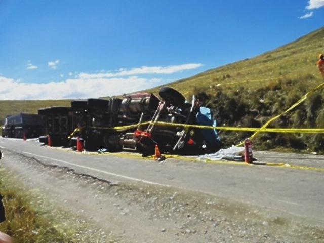 Alertan posibles daños por derrame minero en Espinar