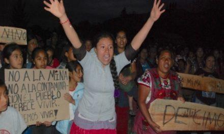 Exigen cancelar órdenes de aprehensión contra 14 opositores a minera en Oaxaca