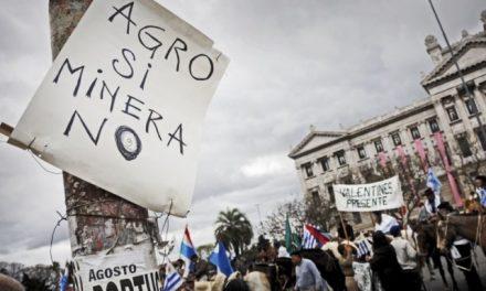 Contra la megaminería en Uruguay más allá de las empresas