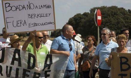 Cortan ruta para protestar contra la mina de uranio de Retortillo