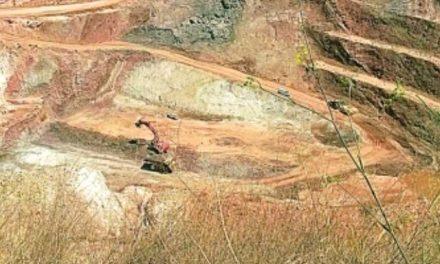 Las minas a cielo abierto contaminan La Serranía