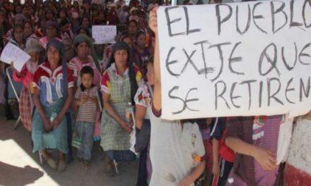 Minera Plata Real fabrica delitos contra defensoras del territorio Magdalena Teitipac