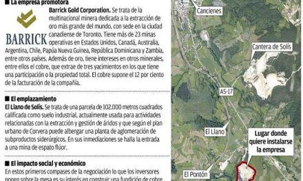 Barrick Gold quiere abrir una fundición de cobre en el País Vasco