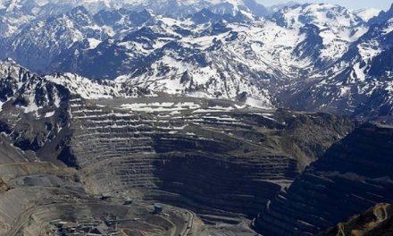 Confirman clausura total de depósito de estériles de mina Los Bronces