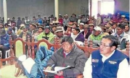 Pobladores de Orurillo rechazan operaciones mineras