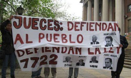 Movilización de asambleas mendocinas en defensa de la Ley 7722