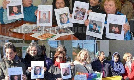 Los vecinos fichados llevaron sus fotos actualizadas a la fiscalía porque las otras no los favorecen