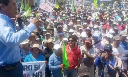 Tía María: acuerdan paro de 72 horas contra proyecto minero