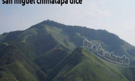 Dicen no a proyecto minero en San Miguel Chimalapa