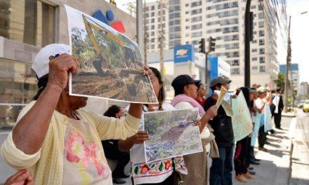 Comuneros amazónicos piden suspensión de proyecto minero Mirador