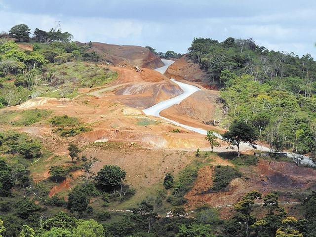 Pobladores del municipio de Santo Domingo rechazan explotación minera