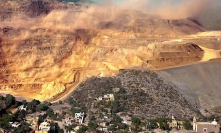 Advierten riesgo de derrames de agua cianurada en Cerro de San Pedro
