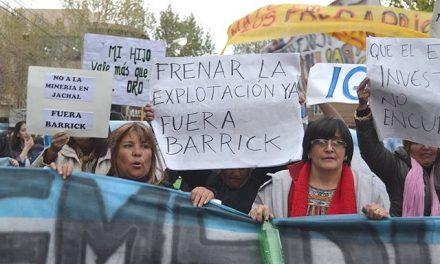 Este viernes en Jáchal se hace un Encuentro Nacional de Lucha contra la Contaminación y el Saqueo