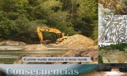 Alto al abuso de las empresas mineras