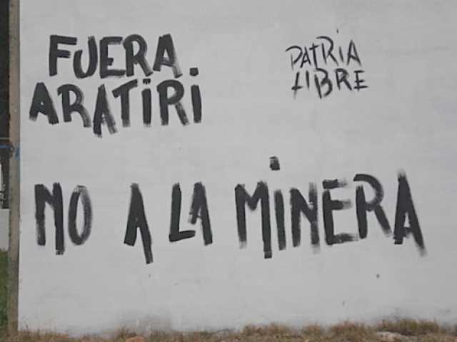 Titular de Aratirí traspasó títulos y proyecto minero al grupo Aurum Ventures
