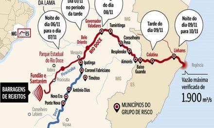 250.000 brasileños no tienen agua potable debido al desastre minero