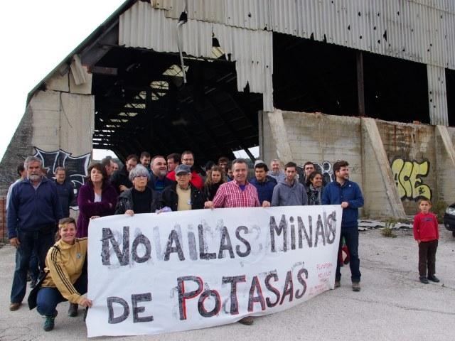 La plataforma contra la mina de potasa denuncia graves afecciones al territorio aragonés
