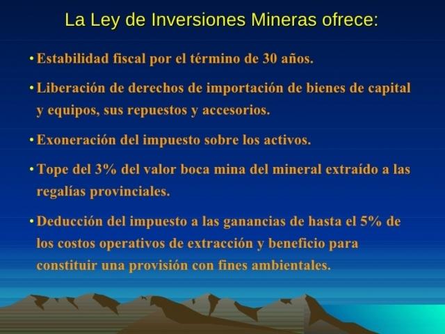 El blindaje legal a favor de las mineras hace que deroguen el impuesto inmobiliario minero en Santa Cruz