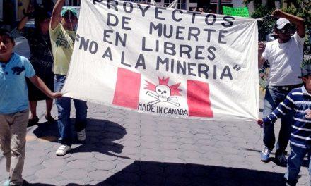 Comunidad de Libres defiende su territorio ante visita de minera canadiense