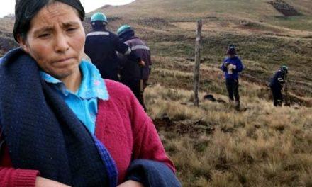 Minera Yanacocha construye cerco para encerrar a Máxima Acuña en su terreno