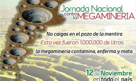 El 12 de noviembre se hará una jornada nacional para que 30 trasnacionales mineras se vayan del país