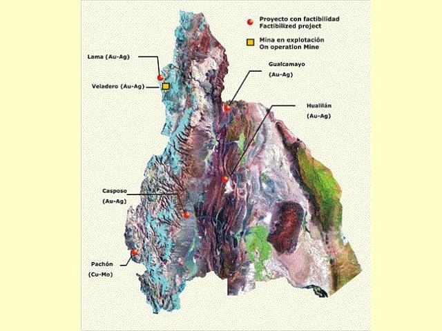 Vocación por la entrega y la destrucción: San Juan ofrece 24 yacimientos metalíferos y no metalíferos