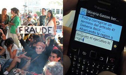 A un año del fraude a la iniciativa popular en Chubut