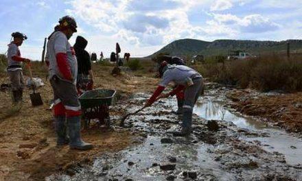 Se derraman 450 toneladas de residuos tóxicos de una mina en Zacatecas