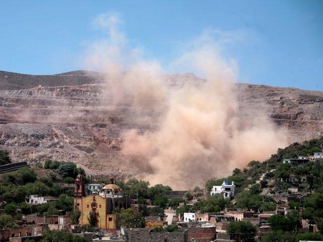 Minera San Xavier se llevó todo el oro y deja más daños en San Luis Potosí
