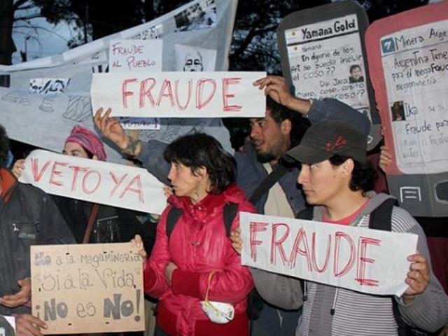 Asambleas de Chubut piden a Das Neves derogar la ley que burló la Iniciativa Popular contra la megaminería y que ésta sea tratada