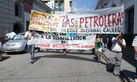 Organizaciones demandan que se reglamente la ley que impide la explotación petrolera en el PN Calilegua