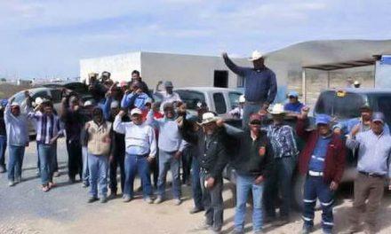 Ejército y federales hostigan a ejidatarios por su lucha contra minera canadiense en Zacatecas