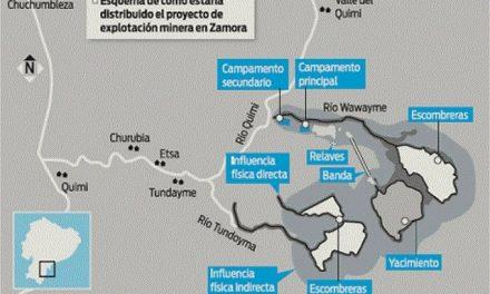 Arranca en manos chinas el polémico primer proyecto minero a gran escala en Ecuador