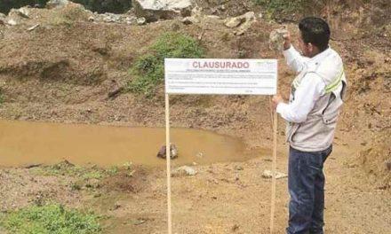 Clausuran minera que explota oro con multa de solo u$s 8.712,63