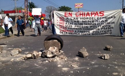 40 ejidos de Chiapas se declaran libres de minería e hidroeléctricas