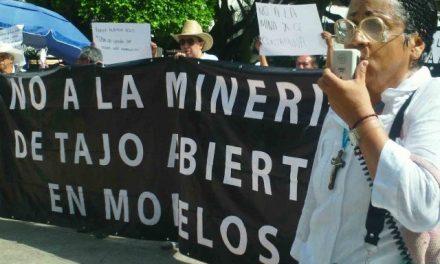 Habitantes de Coatetelco se oponen a la operación de minera Alamos Gold