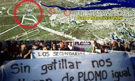 1.500 firmas de vecinos a la Corte Suprema por la remediación del plomo en San Antonio Oeste