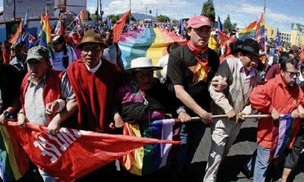 Aumentó en Ecuador la criminalización de la protesta social por proyectos extractivos